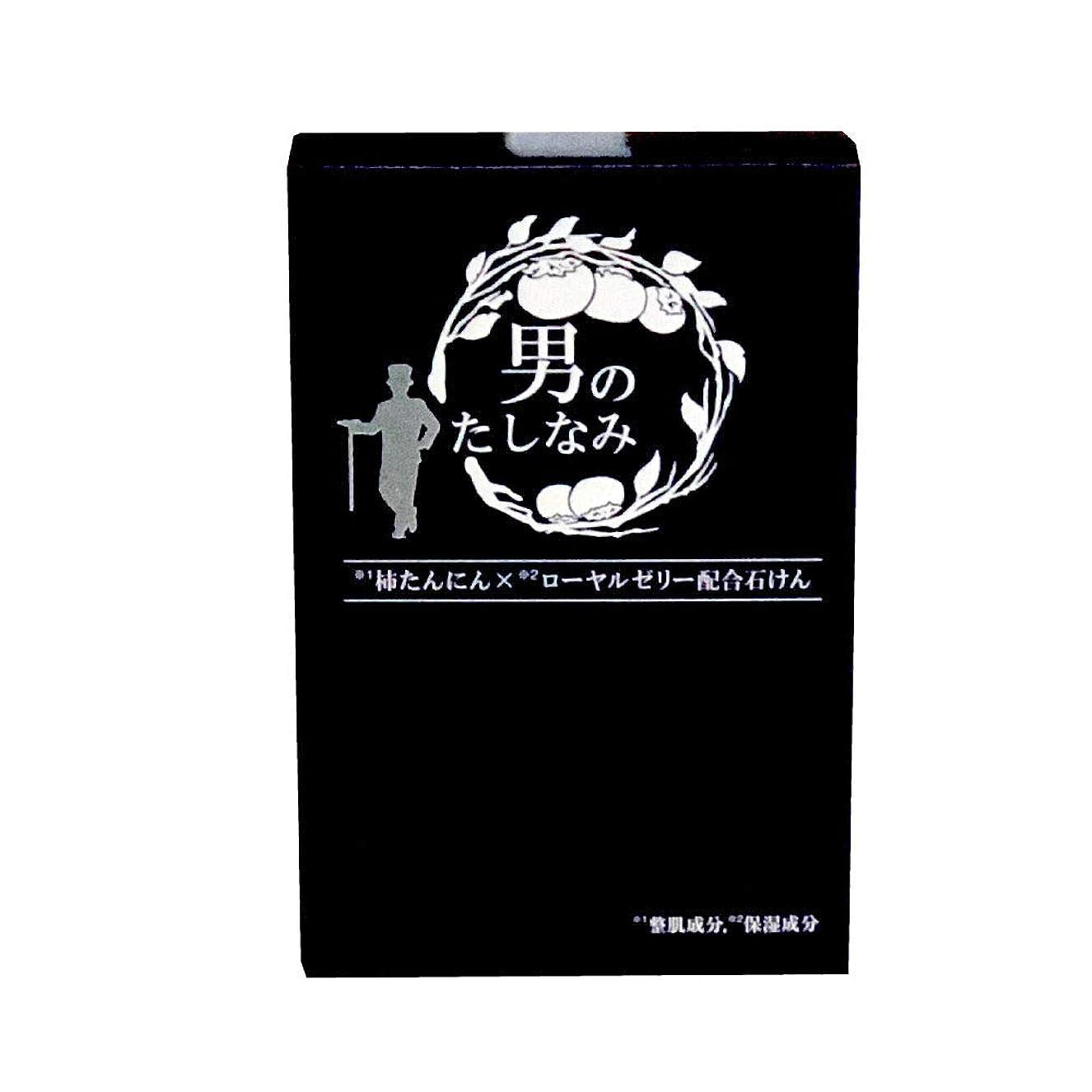 浸食モーテルダッシュ【初回限定 お試し価格】 柿渋石鹸 男のたしなみ (100g)