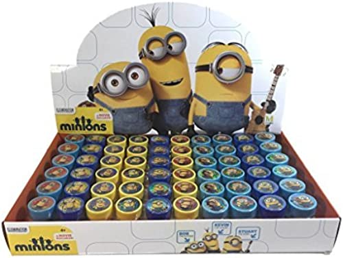 Despicable Me Minion Self-inking Stamps Birthday Party Favors 60 Pieces (Complete Box) by Disney