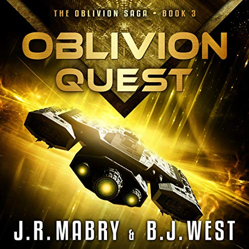 Oblivion Quest audiobook cover art