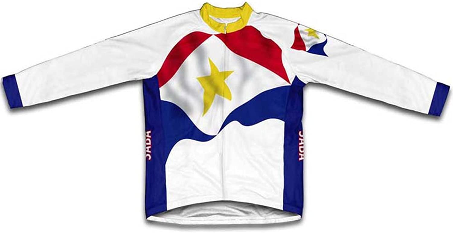 Saba Flag Winter Thermal Cycling Jersey for Women