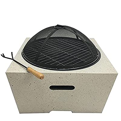 Fire Pit Outdoor Garden Fireplace, Household Heater, fire Pit Patio Patio fire Bowl Barbecue Fireplace by Lijack
