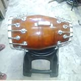Sai Musical New Sheesham Wooden Bolt Fitting Dholak.