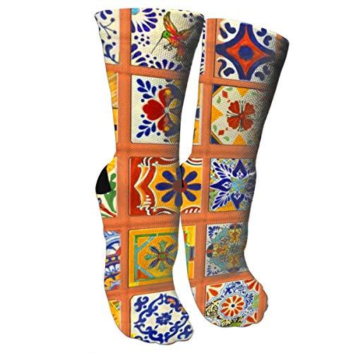 TMVFPYR - Calcetines deportivos de algodón para hombre -  Blanco -  talla única