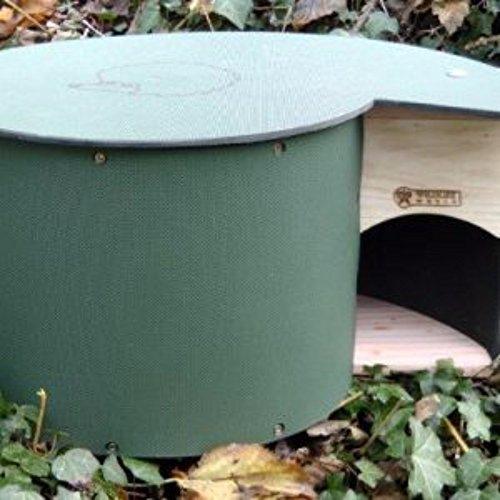 Wildlife World - Hogilo - Casetta per porcospini (Taglia Unica) (Verde)