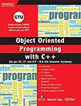 Object Oriented Programming with C++, (As per CE, IT and ICT-B.E 4th Semester Syllabus)