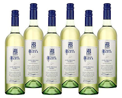 6 Flaschen Allée Bleue DER WEISSWEIN ZUM LACHS Souvignon Blanc Chenin Wein trocken Südafrika