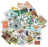 Lot de 1000 timbres rares de collectionneurs intéressants dans le monde entier allemand, Hollande, Nederland, Canada, États-Unis, etc. Old Money 1d 2D 3D 4d 5d GB Kiloware Machin aléatoire