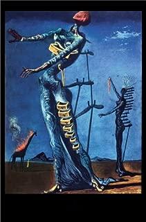 DALI SALVADOR - FLAMING GIRAFFE HUGE LAMINATED ART POSTER