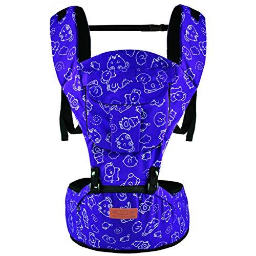RTGID Portabebés Mochila de Envoltura Infantil multifunción Hipseat para recién Nacidos Prevenir Las piernas de Tipo O Sling Baby Kangaroo Bags, 2