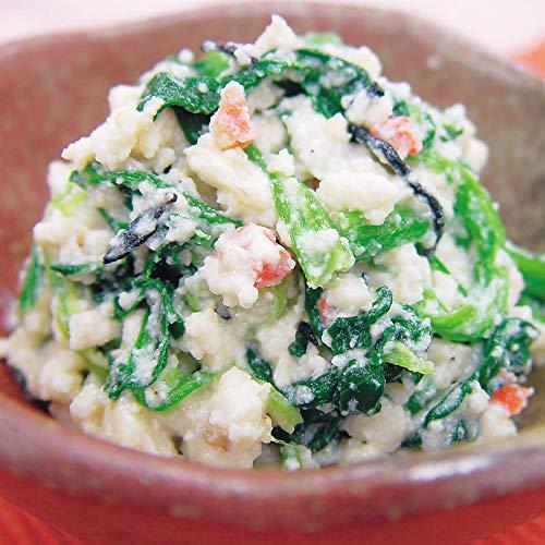 白和えの素 100g×3パック (rns229417)水切りしていない豆腐と白和えの素を混ぜるだけの簡単調理