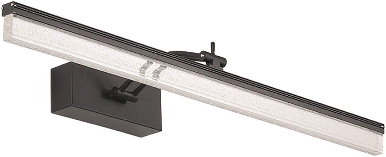 ZMFL Spiegelleuchten Bad Wandleuchte LED Spiegelschrank Lampe Wasserdicht Und Anti-Fog-Spiegel Lampe Lnge  40 60 80 100   120cm. (Farbe   Warmes Licht, gre   60cm-12W)