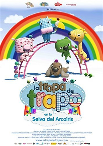 The Happets in the Rainbow Forest ( La Tropa de Trapo en la selva del arcoiris ) [ Spanische Import ]