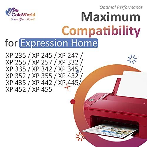 ColoWorld 29 XL Cartuchos de tinta Reemplazo para Epson 29 29XL Compatibles con Epson Expression Home XP-235 XP-245 XP-247 XP-332 XP-335 XP-342 XP-345 XP-432 XP-435 XP-442 XP-445 Impresoras 6-Pack