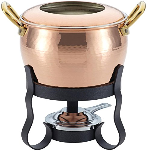 Ruffoni 4-Piece Michelle Copper Fondue Set