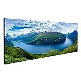 bilderfelix® Bild auf Leinwand Geiranger Fjord schöne