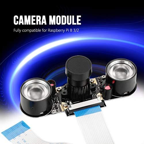 Módulo de cámara, módulo de cámara Estable de Alta definición, cámara Duradera confiable de 5MP Raspberry Pi B 2 para Raspberry Pi B 3 Raspberry Pi