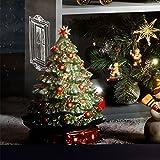 Villeroy & Boch Toy's Delight Weihnachtsbaum mit Spieluhr, Hartporzellan, Baum, 27.5 x 29 x 37 cm - 2