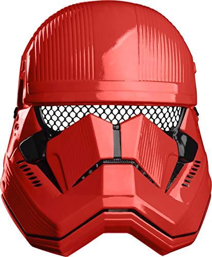Star Wars IX- Máscara Stormtroopper Rojo episodio 9 (Rubies 201051)