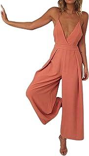 d0d0c1f5407 Amazon.ca  Orange - Jumpsuits   Rompers   Women  Clothing   Accessories