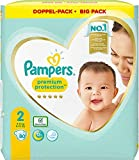 Pampers Premium Protection Lot de 2 couches Taille 2 4-8 kg