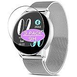 VacFun 3 Piezas Vidrio Templado Protector de Pantalla, compatible con AIMIUVEI A5 smartwatch Smart Watch, 9H Cristal Screen Protector Protectora Reloj Inteligente