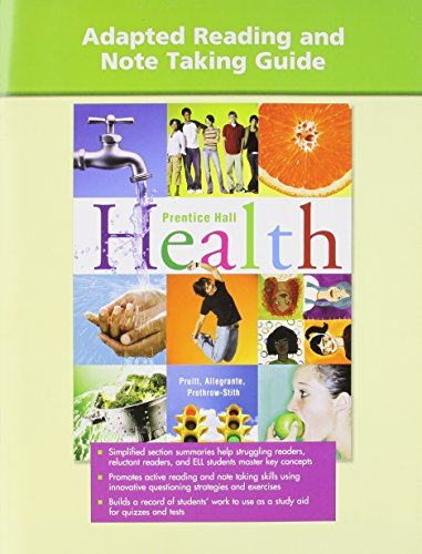 HIGH SCHOOL HEALTH ADAPTED READING WORKBOOK 2007C