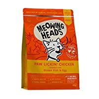 100% NATURAL CHICKEN AND FISH- Our Paw Lickin' Chicken cat food is made with 100% natural chicken and fish blended with super yummy brown rice and veg NATURAL INGREDIENTS - Our dry cat food is made using only the best quality, natural ingredients. Fr...