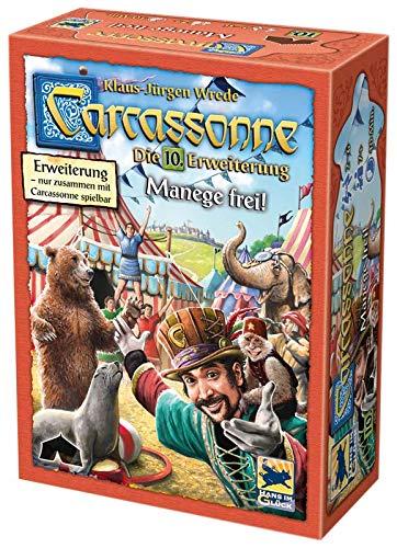 Asmodee Carcassonne - Manege frei!, 10. Erweiterung, Familienspiel, Strategiespiel, Deutsch