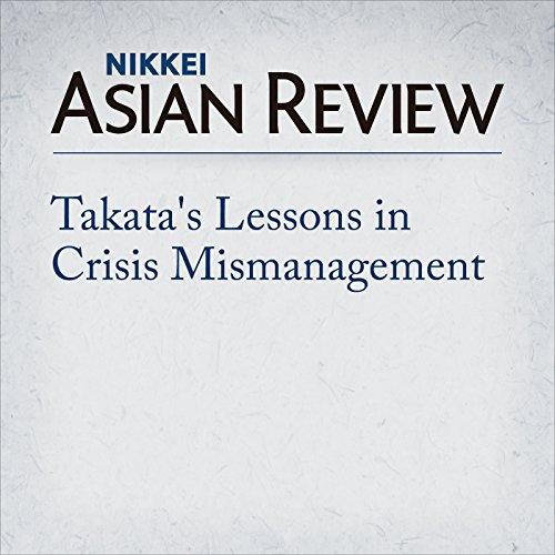 Takata's Lessons in Crisis Mismanagement | Takeshi Shiraishi