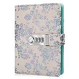 ARRLSDB Diary with Lock, PU Leather Multi...