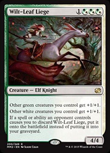 Magic The Gathering - Wilt-Leaf Liege (200/249) - Modern Masters 2015