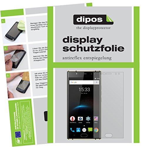 dipos I 6X Schutzfolie matt kompatibel mit Oukitel K3 Folie Bildschirmschutzfolie