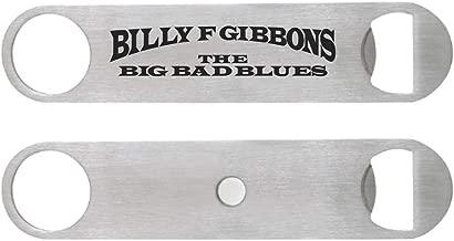 Billy F Gibbons The Big Bad Blues Custom Magnetic Bottle Opener