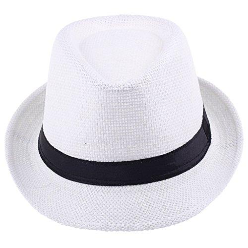 COMVIP - Kappen für Mädchen in Weiß, Größe 50-52