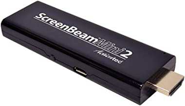 Actiontec ScreenBeam Mini2 Wireless Display Adapter/Receiver (SBWD60A01) with Miracast, Black