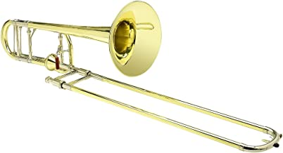 S.E. SHIRES TBQ30YA Q-Series Axial F-Attachment Trombone Lacquer Yellow Brass Bell