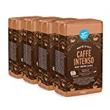 Marca Amazon - Happy Belly Café molido 'Caffè Intenso' (4 x 250g)
