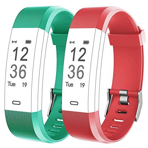 Rayfit Pulseras de Repuesto para Fitness Tracker Correa ID115Plus HR/Correa ID115 Plus HR / SW333 Correa Repuesto de Reloj Deportivo Inteligente Pulseras Actividad Contador Pasos Calorías Podometro