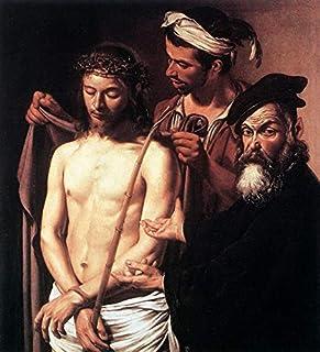 Singing Palette 6 Dipinti Famosi - €40-€1500 Pittura a Olio a Mano da pittori accademici - ECCE Homo Caravaggio Cristiano ...