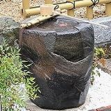 信楽焼 紫香楽 湧き水つくばい 電動つくばい つくばい 陶器かけひ 蹲 循環式つくばい ウォーターオブジェ dt-0004
