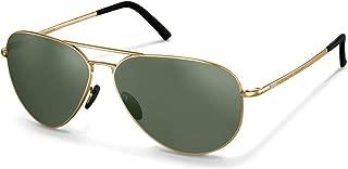 Authentic Porsche Design P 8508 A Gold Polarized Sunglasses