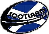 Film adhésif résistant aux intempéries pour voiture Coupe du monde de rugby B265 Motif drapeau de l'Écosse Résistant aux UV et au lavage