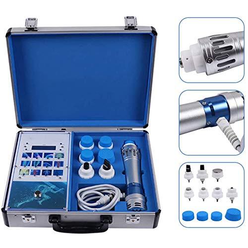 Heatile Stoßwellenmaschine Stoßwellentherapiegerät Anticellulite Massagegerät mit 7 Massagekopf Für Schmerzlinderung Massager Und ED-Behandlung