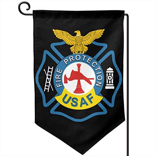 AllenPrint Outdoor Seasonal Flag,Brandschutz-Polyester-Gartenflaggen Der Us-Luftwaffe Für Garden Welcome Decor,32x45.7cm