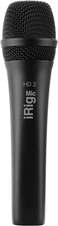 IK Multimedia iRig Mic HD 2 High-Definition Handheld Digital Microphone for iPhone, iPad, Mac and PC