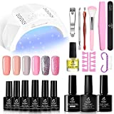 Best Home Gel Nail Kits - Beetles Nude Pinks Gel Nail Polish Kit Review