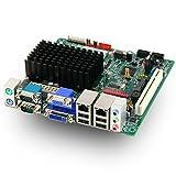 Mitac PD12TI CC Mini-ITX Motherboard w/Intel Atom D2550 CPU, Dual LAN, D2500CCE