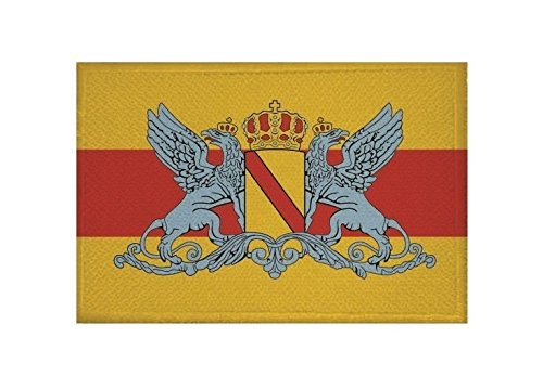 U24 Aufnäher Großherzogtum Baden Fahne Flagge Aufbügler Patch 9 x 6 cm