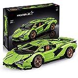 BOXX Technik Bausteine für Lamborghini Centenario Auto Sportwagen, Technic Auto Custom Rennwagen Bausatz Kompatibel mit Lego Technik