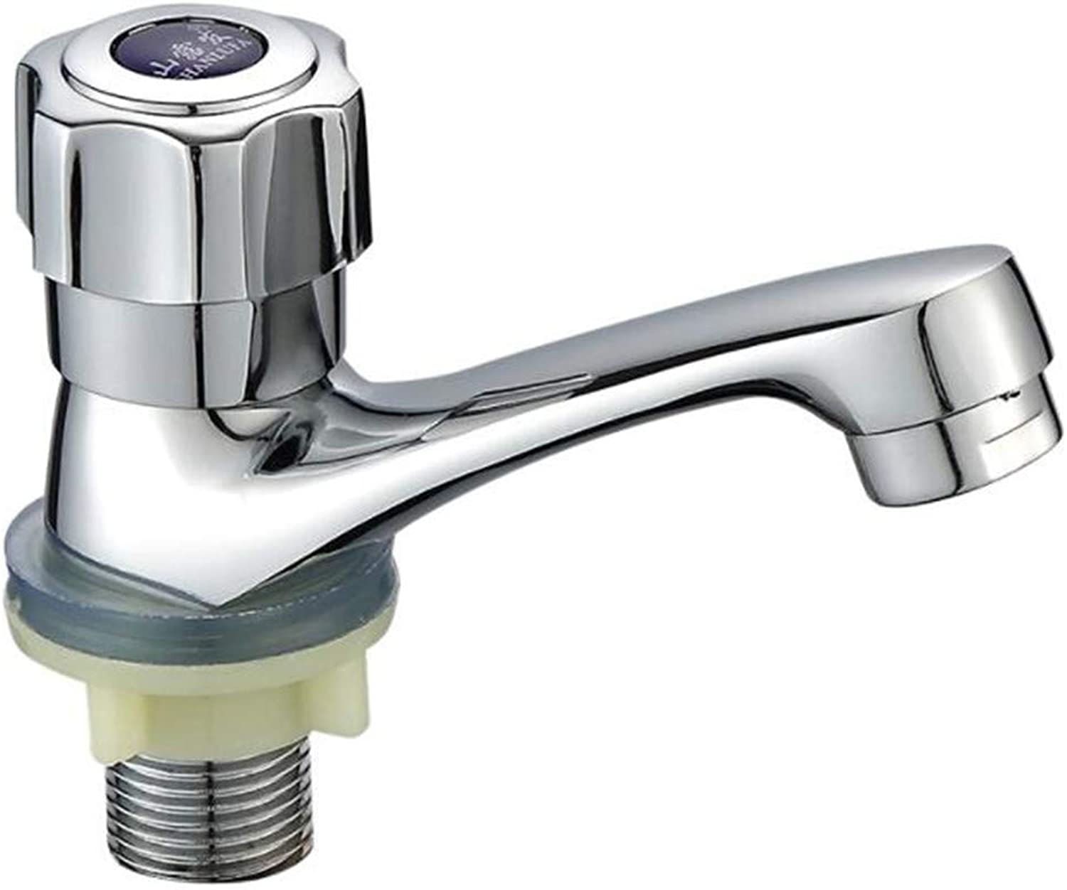 Bathroom Sink Basin Lever Mixer Tap Full Copper Single Cold Water Faucet Washbasin Faucet